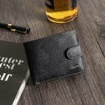 New Men Leisure Casual Trifold 6 Card Slots Short Wallet Coin Ba