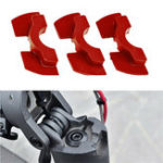New Red 3Pcs 0.6/0.8/1.2mm Electric Scooter Accessories Rubber Damper For Xiaomi M365