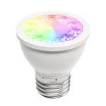 New GLEOPTO GL-S-008Z AC110-240V 5W RGBWW E27 PAR16 Smart LED Spotlight Bulb Work With Alexa Philip HUB