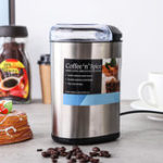 New Stainless Steel Coffee Bean Nuts Grinder Grinding Spice Mill Home Blender Tool