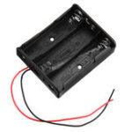 New 10pcs 4 Slots 18650 Battery Holder Plastic Case Storage Box for 4*3.7V 18650 Lithium Battery