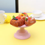 New 8Inch Iron Round Cake Stand Pedestal Dessert Holder Wedding Party Decorations