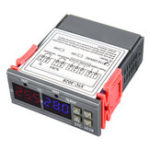 New 110-220V STC-3018 Digital Temperature Thermostat Controller With Setting Function Value Display C/F Conversion