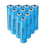 New 4Pcs Elfeland 18650 3000mAh 3.7V Rechargeable Li-ion Battery