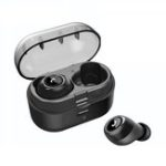 New Bakeey bluetooth 5.0 Wireless TWS Earphone HiFi Double Bass 5D Noise Cancelling Stereo Headphone with Charging Box