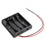 New 4 Slots AAA Battery Box Battery Holder Board for 4 x AAA Batteries DIY kit Case