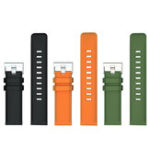 New LOKMAT 120MM+85MM 22mm TPU Watch Band Universal Sport Watch Strap Replacement for LOKMAT Smart Watch
