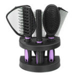 New 5pcs Comb Mirror Combination Massage Comb Boutique Set