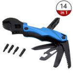 New HUOHOU KA62 14 In 1 Multifunction Folding K-nife [XIAOMI Youpin] Kitchen Multitool Bottle Opener Multi-Function Wrench Pliers Wood Saw Screwdriver