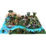 New 200pcs/300pcs Army Soldier Military Model DIY War Scene Kids Toys