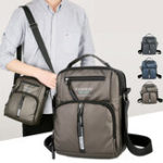 New Men Oxford Business Shoulder Bags Multi-pocket Chest Bag