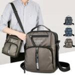 New Men Oxford Business Shoulder Bags Multi-pocket Chest Bag