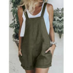 New Women Casual Sleeveless Strappy Loose Jumpsuits Playsuits