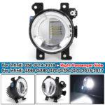New Right Side LED Fog Light Headlamp For Infiniti Q50 14-18 QX80 15-15 Q70/Q70L/Q70 15-17