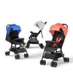 New QBORN TQ02OS Lightweight Folding Baby Stroller Baby Cart One-Button Opening/Closing 110-165 Degrees Adjustment Waterproof Canopy From XIAOMI Youpin