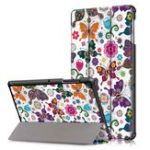 New   Tri-Fold Printing Tablet Case Cover for Samsung Galaxy Tab S5E SM-T720 SM-T725 Table – Butterfly