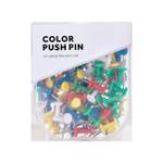 New Jordan&Judy JJ-YD0026 Colored Push Pins Binder Clips Metal Thumb Tacks Map Drawing Push Pins Crafts Office Accessories School Supplies Stationery