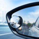 New FLOVEME 2pcs HD Car Blind Frame Small Round Spot Mirror