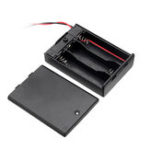 New 5pcs 3 Slots AA Battery Box Battery Holder Board with Switch for 3xAA Batteries DIY kit Case