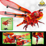 New SEMBO Dragonfly DIY Daxie Flying Insect Building Blocks Bricks Toys Gift Decor