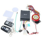 New 12V 125dB Motorcycle Scooter Security Alarm System Anti Theft Remote Control