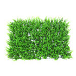 New 40*60cm Artificial Plant Foliage Hedge Grass Mat Greenery Panel Decorations Wall Fence