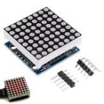 New 8×8 MAX7219 Dot Matrix Module LED Display Module Board For Arduino