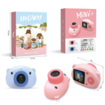 New Heliway Cartoon Pig Camera for Children 1080P Normal Card Version Photograph Educational Toys