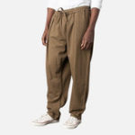 New Mens Vintage Cotton Drawstring Loose Straight Pants