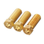 New 0.4mm/0.6mm/0.8mm Brass Volcano Nozzle for 1.75mm Filament