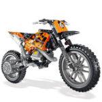 New LELE 2IN1 Exploiture Speed Racing Motorcycle Building Blocks Toys Model 253pcs Bricks
