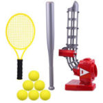New Auto Self-motion Pitching Training Machine Baseball Tennis