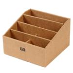 New Remote Control Sundries Parts Storage Box Creative Paper Desktop Stationery Pen File Storage Box