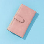 New Brenice 12 Card Slot Patchwork Solid Wallet