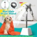 New Pet Hair Dryer Holder 180 Degree Rotating Hair Dryer Bracket