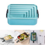 New Xiaomi Jordan&Judy 1.4L Aluminum Lunch Box Bento Case Food Meal Container Camping Picnic