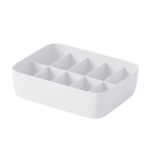 New Underwear Stockings Plastic Storage Box Drawer Type Clothes Baskets Sorting Box with PP Material