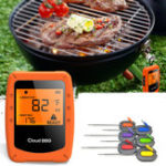 New 6 Probes Wireless Smart BBQ Thermometer Oven Meat Food bluetooth Wifi For IOS Android