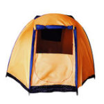 New Outdoor 5-6 People Large Tent Waterproof Double Layer Family Canopy Sunshade Outdoor Camping