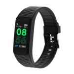 New Bakeey SN66 IPS Screen Dynamic UI 24-hour HR Blood Pressure Sports Mode USB Charging Smart Watch Band