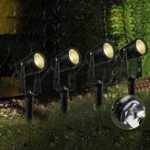 New 4 in 1 COB LED Outdoor Landscape Spot Flood Light AC85-265V Waterproof for Lawn Pathway