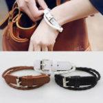 New Bohemian Double Layer Leather Bracelet