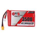 New Gaoneng GNB 7.6V 3500mAh 2S HV Lipo Battery XT30 Plug for Frysky Taranis QX7 Transmitter TX Remote Control