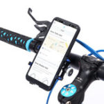 New Aluminum Alloy Bike Motorcycle Handlebar Phone Holder For Smart Phone iPhone Samsung Huawei Xiaomi