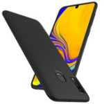 New Bakeey Carbon Fiber Protective Case For Samsung Galaxy A40 2019 Shockproof Soft TPU Back Cover
