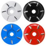 New Woodworking Wood Carving Disc Tool Six-Tooth Blade For 16mm Aperture Angle Grinder
