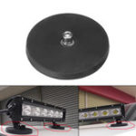 New M8 Strong Magnet Base Mount Bracket with Rubber Pad For LED Work Light Bar
