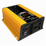 New  12V-110V/220V Dispaly Inverter 450W Power Inverter Car Modified Sine Wave Converter Solar Power Charger Inverter