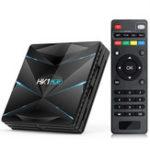 New HK1 Play Amlogic S905X2 4GB DDR4 RAM 64GB EMMC ROM 5G WIFI bluetooth 4.1 Android 9.0 4K H.265 TV Box