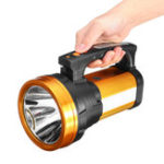 New 500W 3000LM 1000m Range LED USB Work Light Waterproof Hand Searchlight Flashlight Lamp Torch Emergency Lantern Outdoor Camping